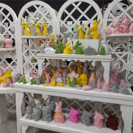 2021 Easter rabbits